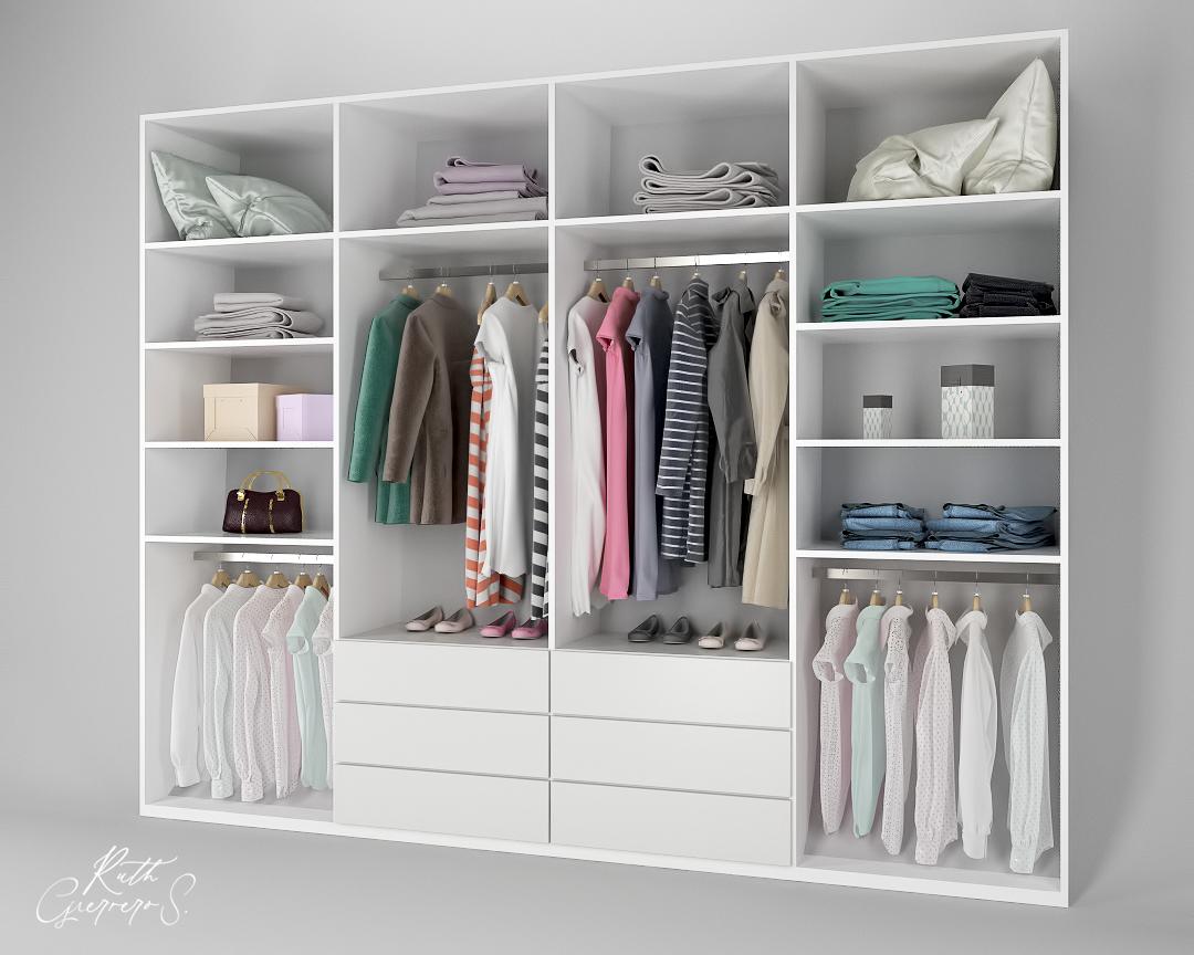 Image may contain: wall, closet and indoor