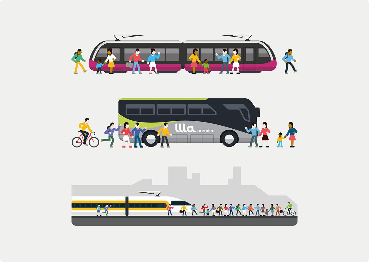 Adobe Portfolio keolis mobility train subway metro London Paris annual report rapport annuel New York tramway bus car snow