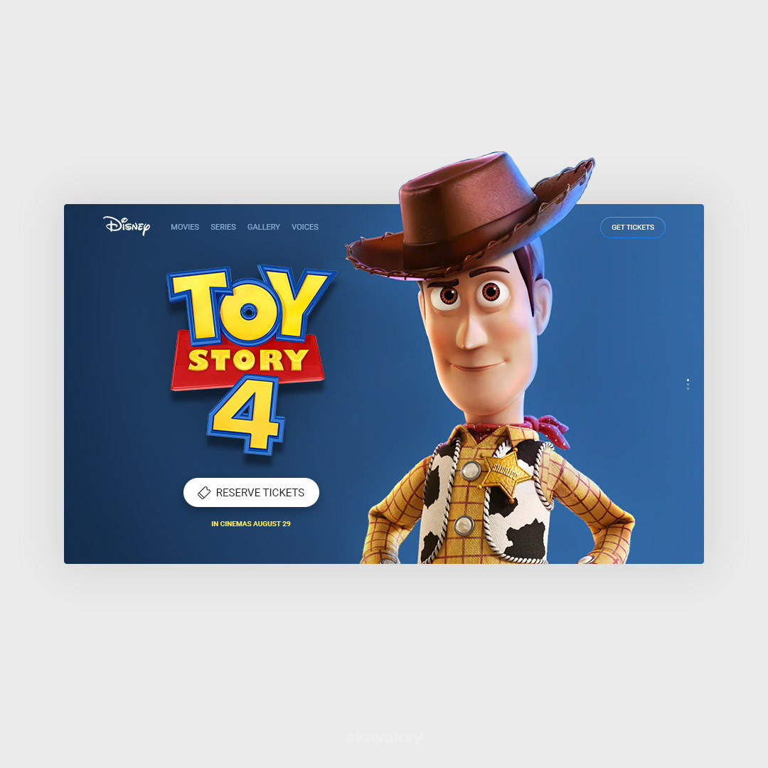 okayokay design inspiration Nike Toy Story 4 toy story disney