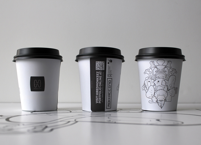 vector craft grafitti brand identity Coffee Character design ILLUSTRATION