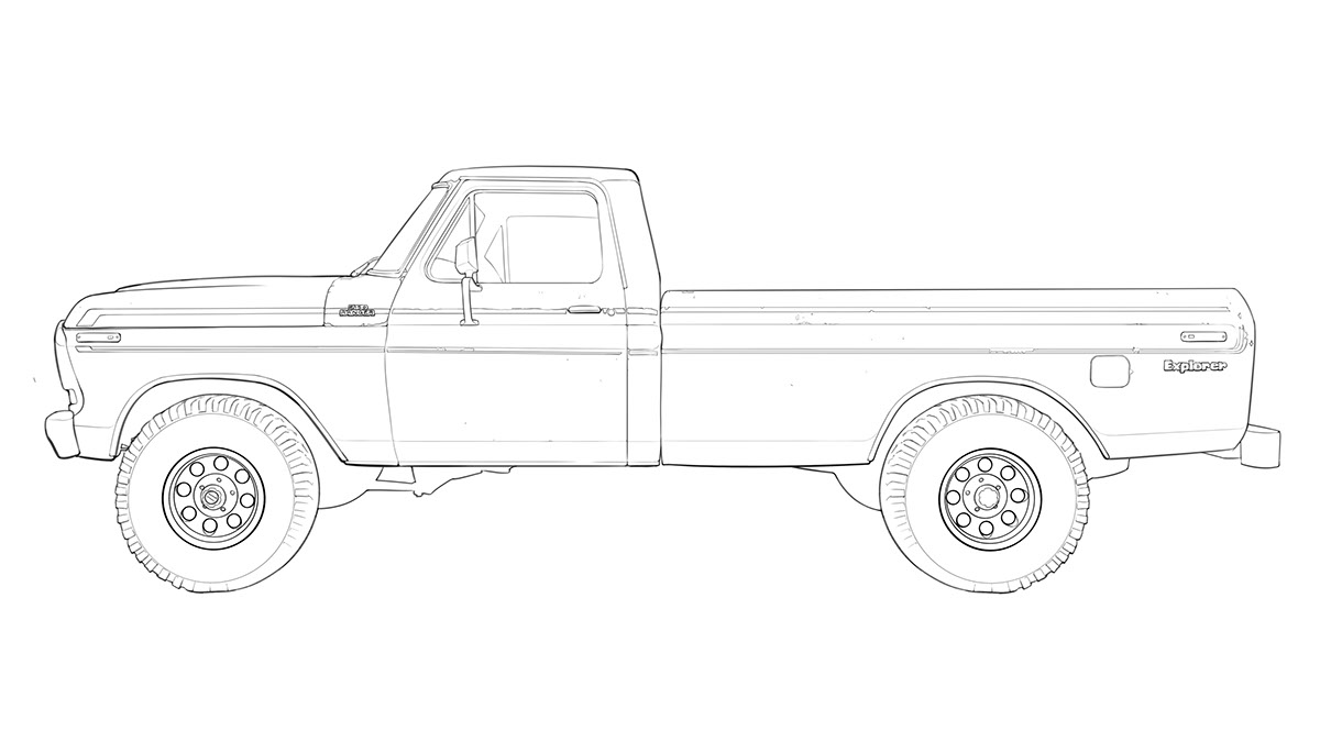 Ford F150 Render On Behance