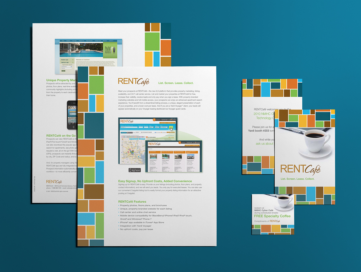 RentCafe Branding on Behance