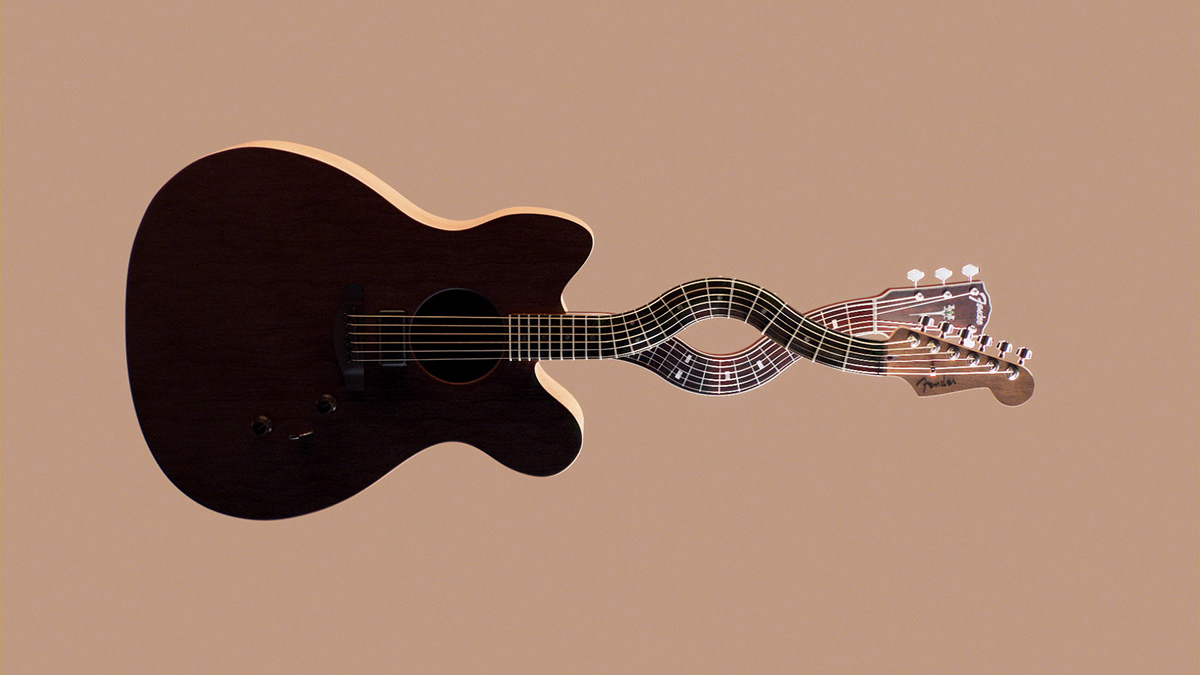 3D animation  fender guitar Jazzmaster manvsmachine mvsm