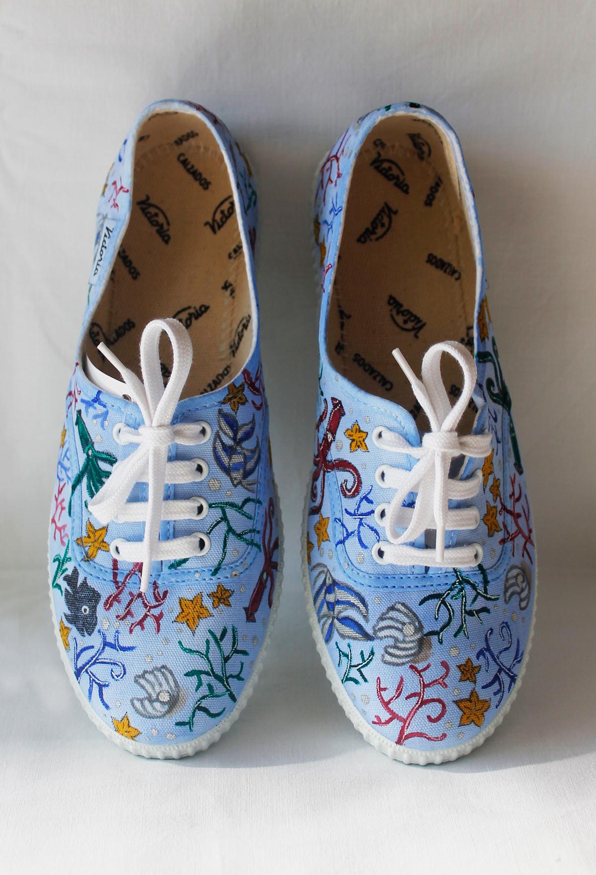 shoes literature watercolor children art