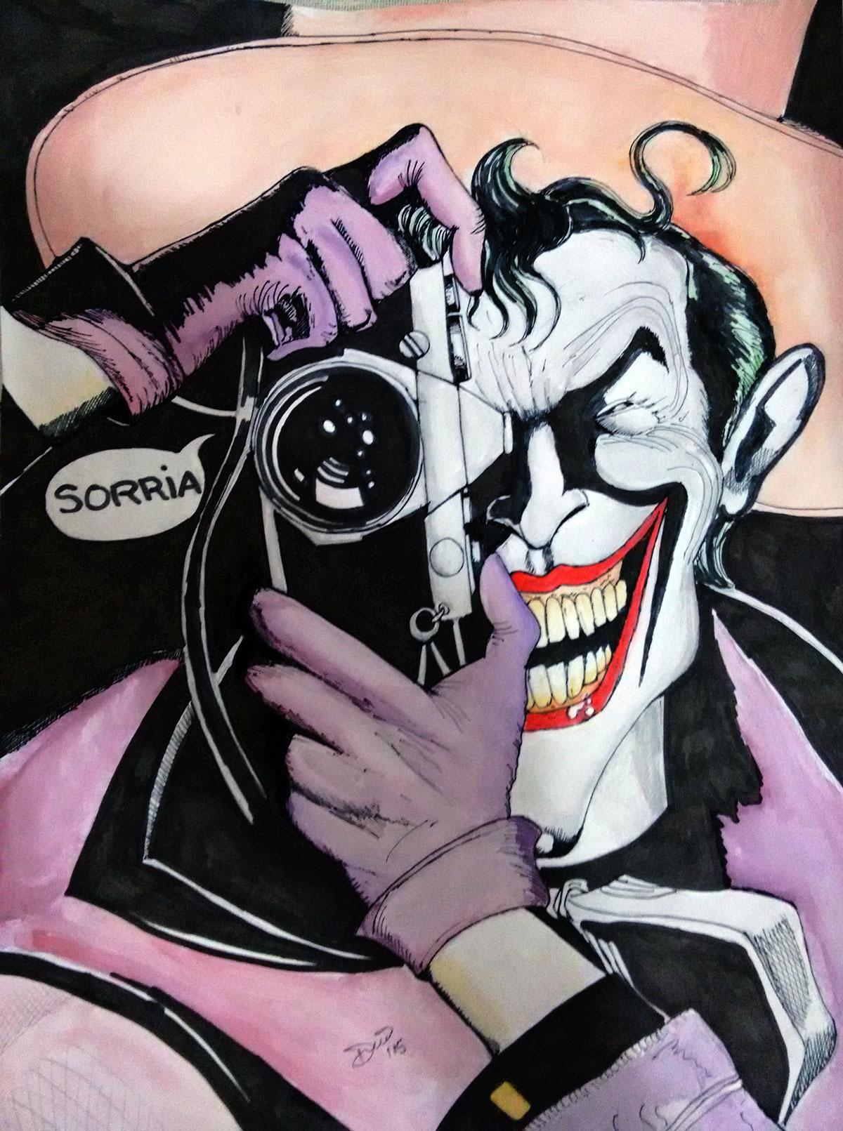Batman Graphic Novel piada mortal Dc Comics #coringa quadrinhos gibis