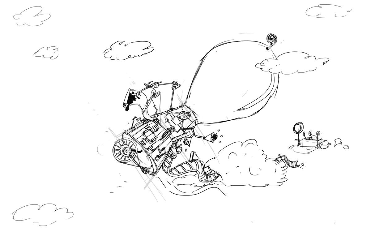 wetransfer illustration