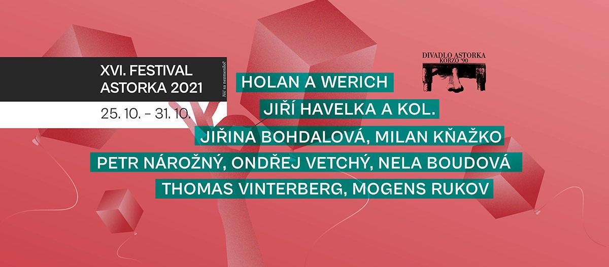 astorka korzo 90 behun Bratislava design festival ILLUSTRATION  poster theatre festival theatre poster vector