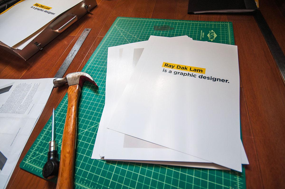 Graphic Design Portfolio Book on Pantone Canvas Gallery
