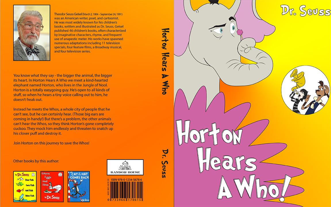 A who book dr horton hears seuss