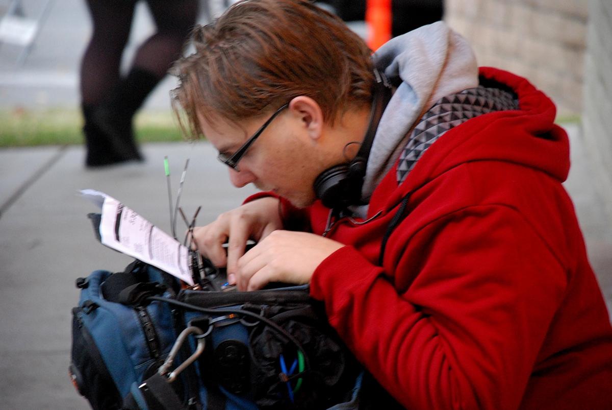 film making behind-the-scenes on set