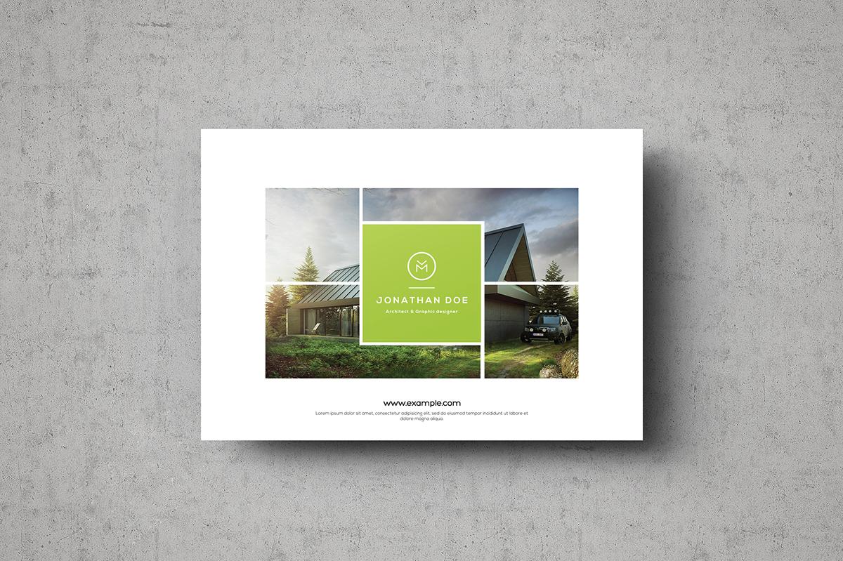 Multipurpose Landscape Portfolio on Behance