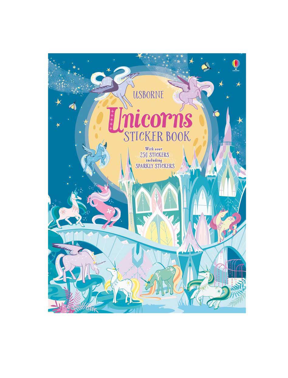Unicorn Stickers Book For Usborne Publishing On Behance