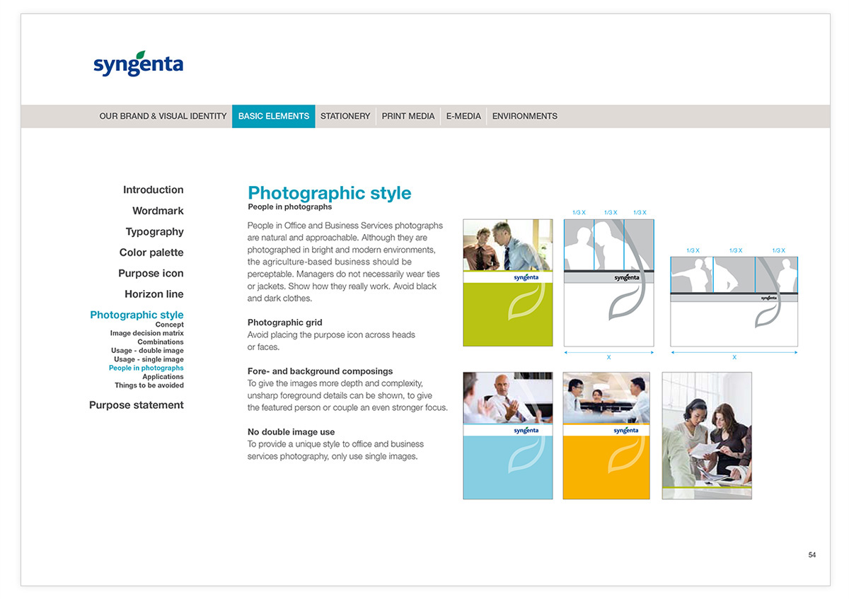 Gregor Fitz - Syngenta Visual Identity Extension