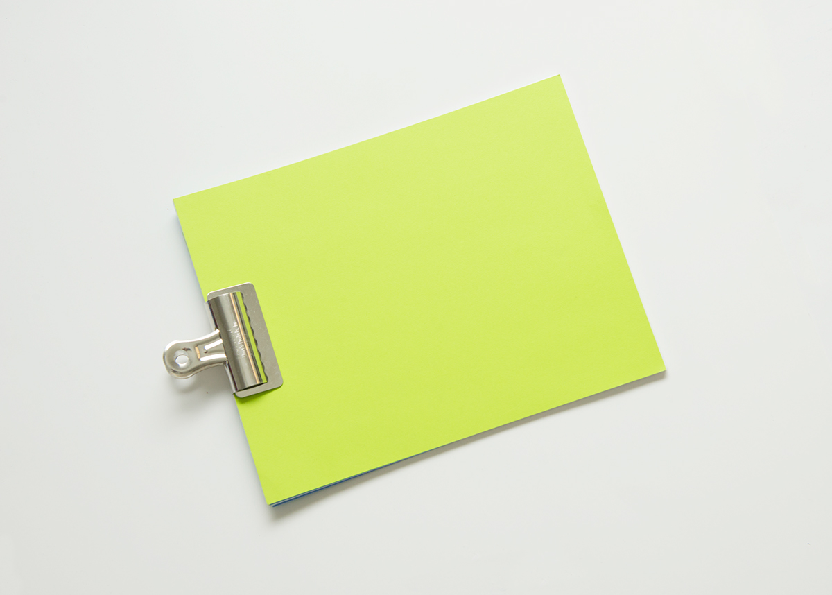 personal identity Stationery logo minimal corporate business self Promotion card lime neon Layout print