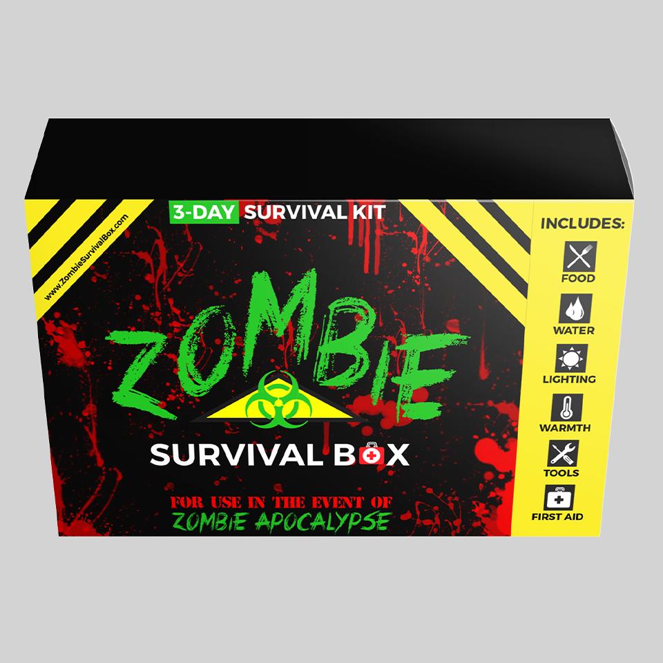 zombie packaging design