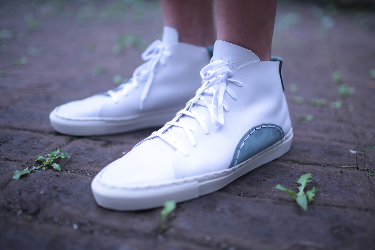 Handmade Leather Sneakers on Behance