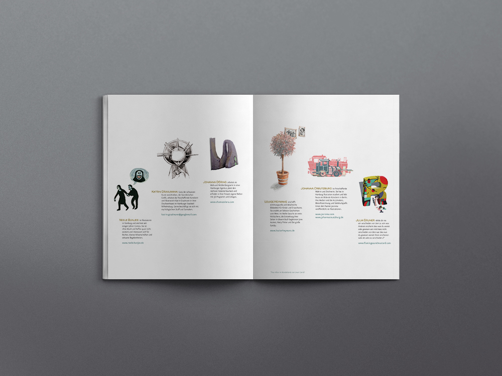 Book Deisgn Layout illustrations frappant