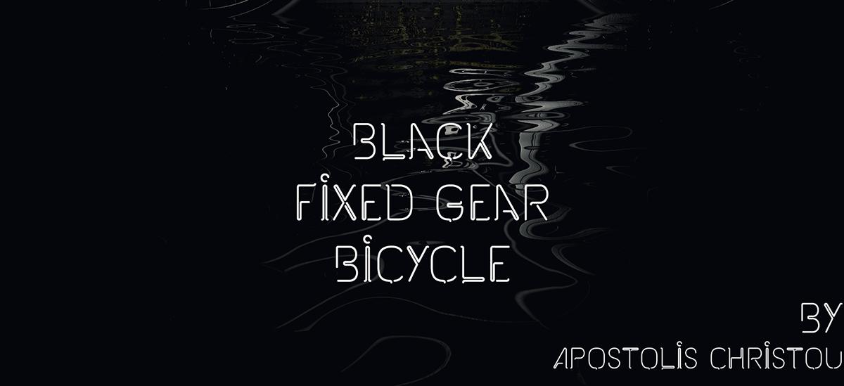 black fixed gear fixed gear apostolis christou apostolis christou bronxes 3D vray 3ds 3ds max fixie Bicycle Black Bicycle fixed bicycle