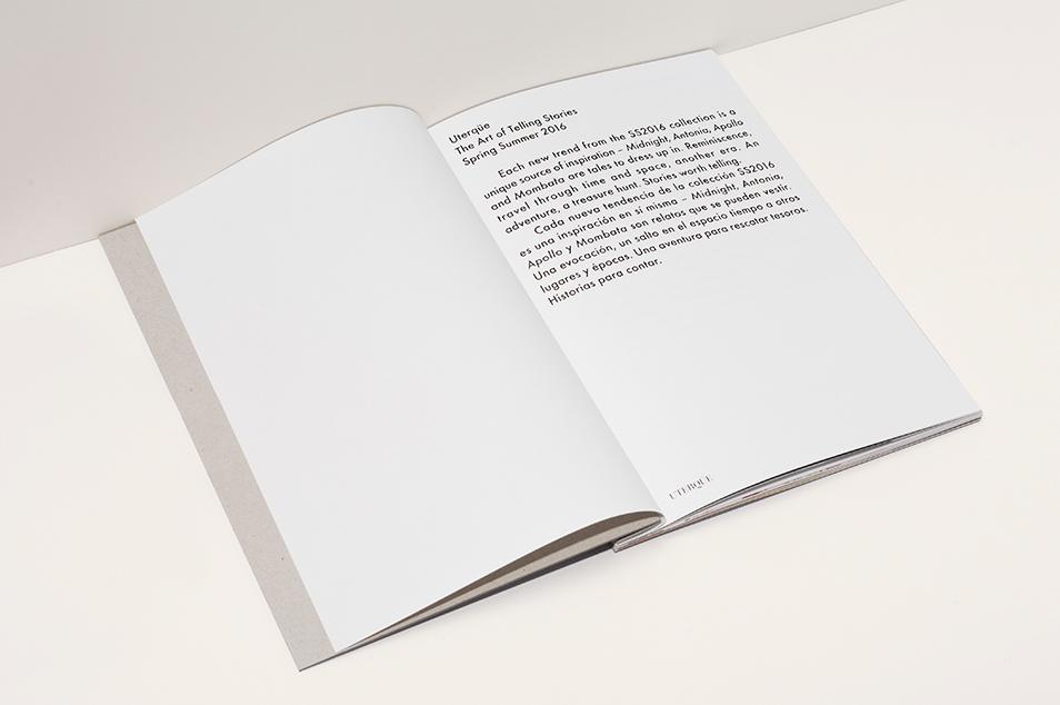 Uterqüe SS16 Press Book on Behance