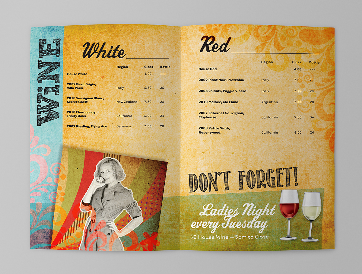 Mellow Mushroom Drink Menu On Behance