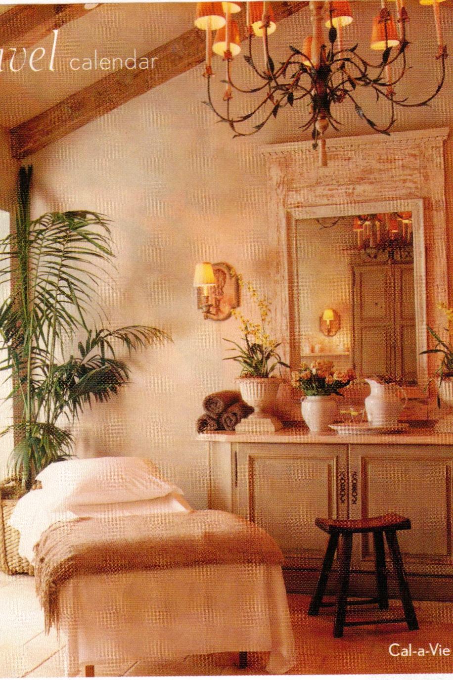 Interior design award winning cal a vie leslie mcgwire on for Hotel spa decor