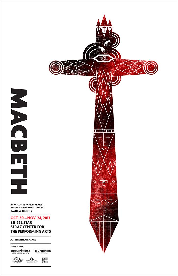 Macbeth poster on Behance