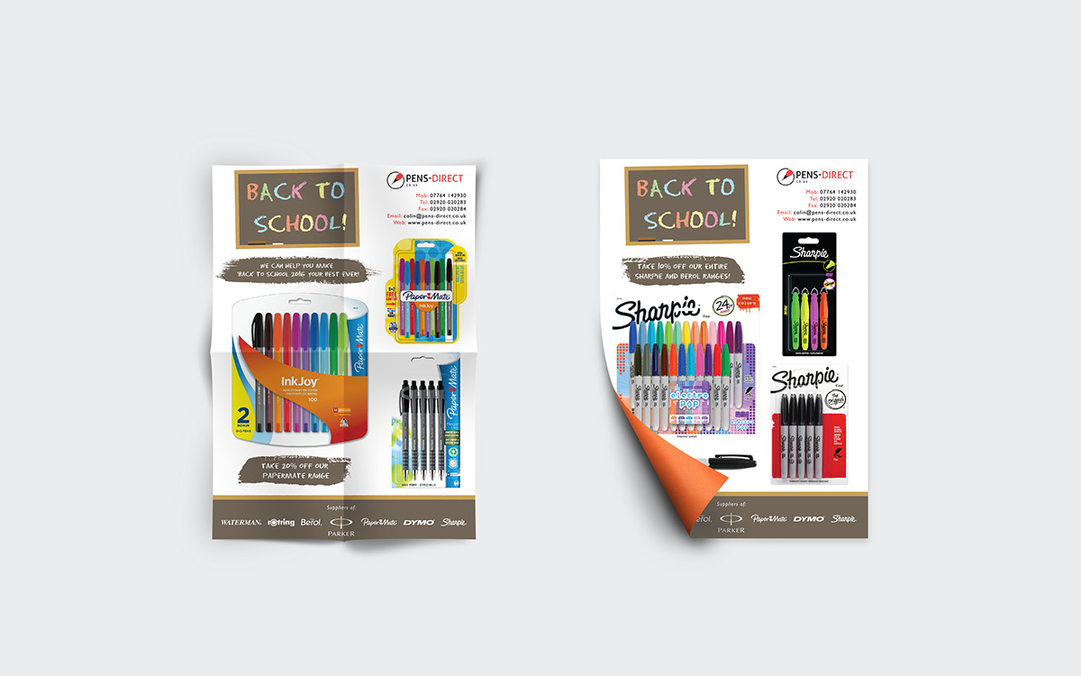 Pens direct ltd promotional marketing materials on for Custom marketing materials