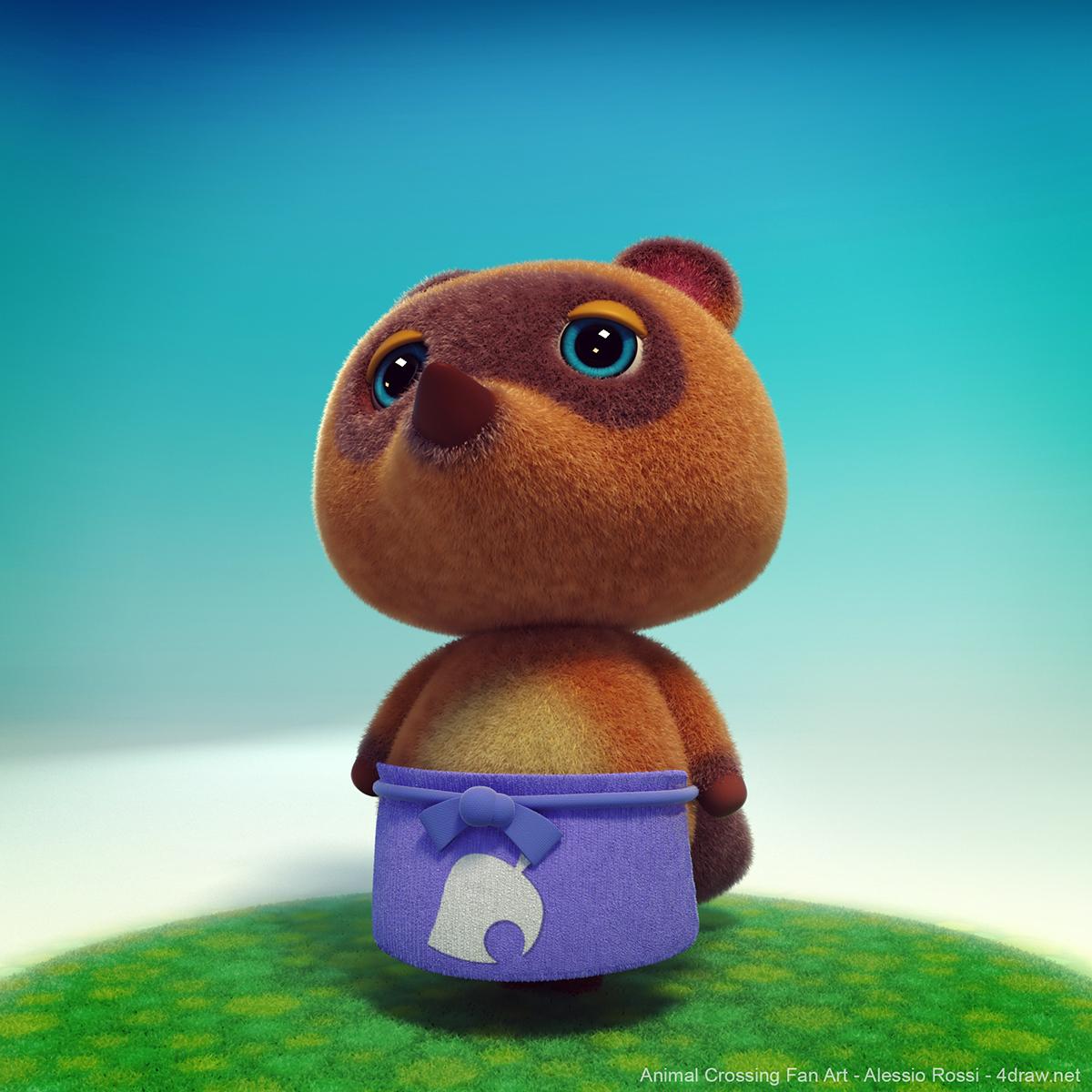 Shake your butt Isabelle!   Animal Crossing Fan Art
