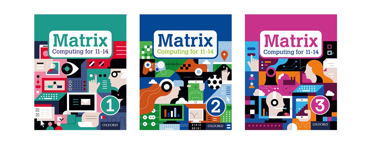 Matrix Computing Books Covers on Wacom Gallery