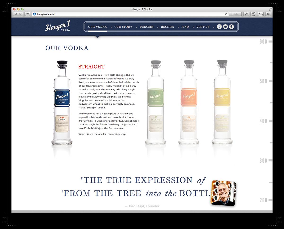 Hangar 1 Vodka on Behance