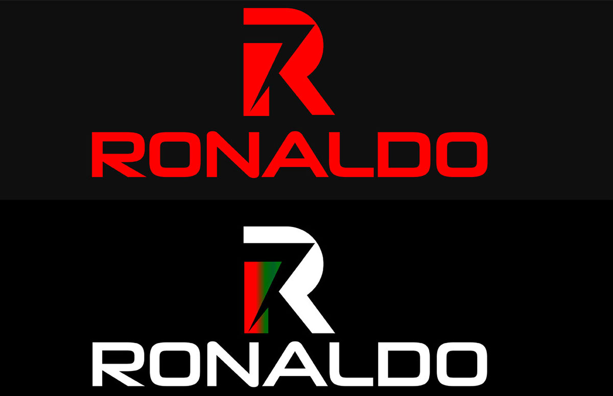 Cristiano ronaldo logo design on behance - Christiano ronaldo logo ...