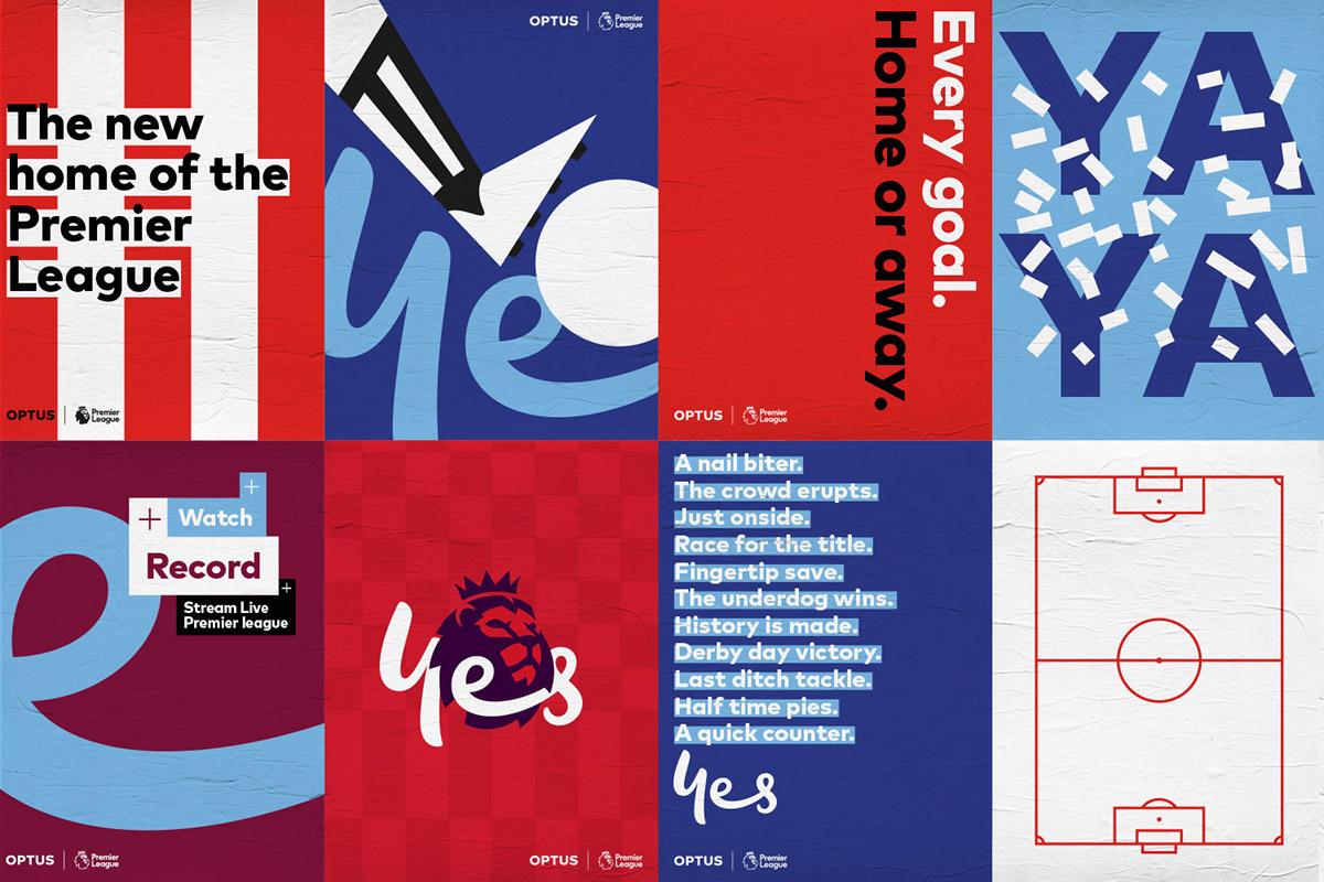 Telecommunication colour handwritten Script type football Entertainment Netflix sport logo