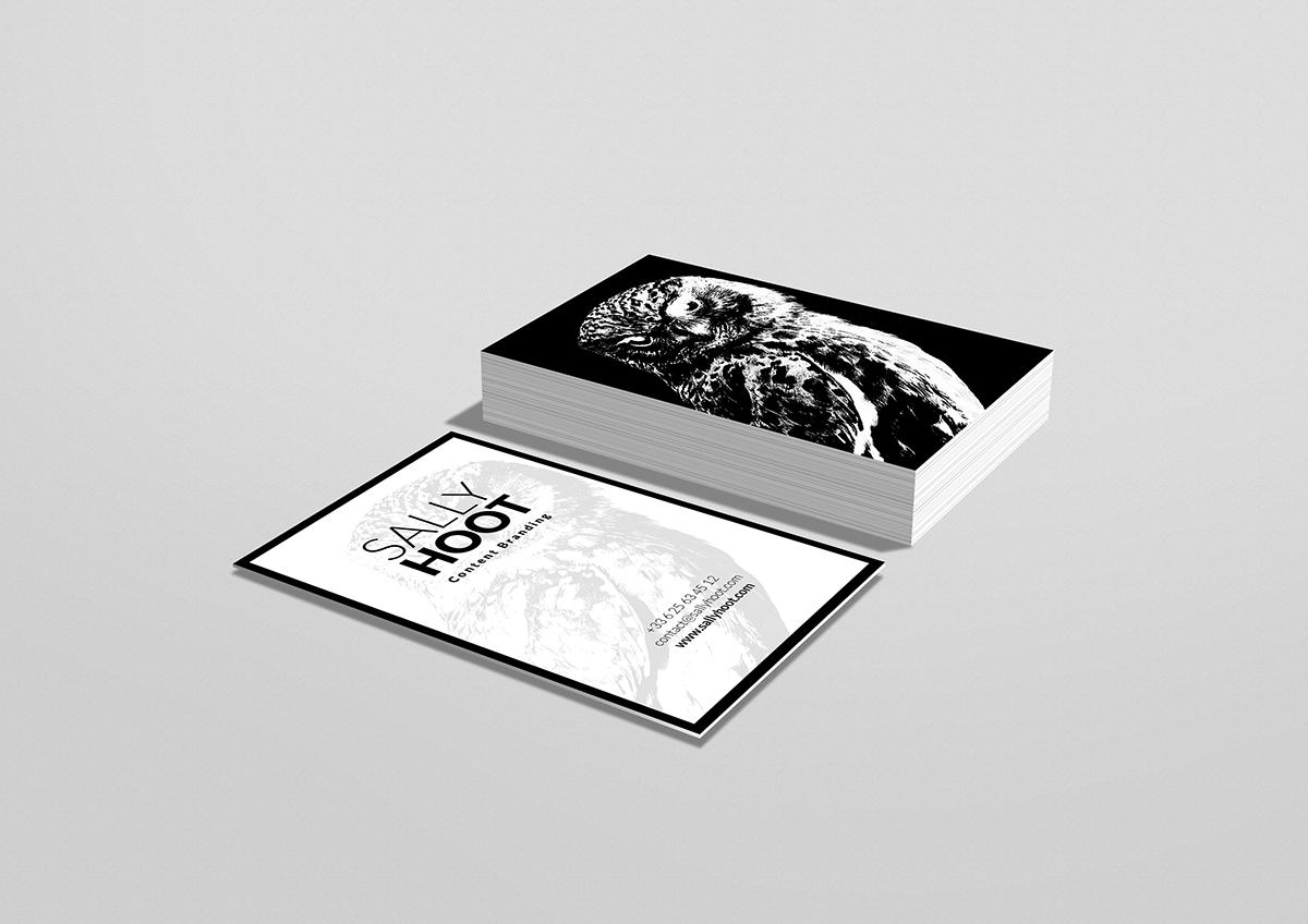 vertical business card display mockup free psd