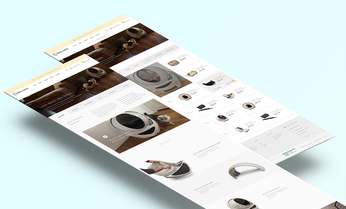 Litter-Robot Website UI/UX