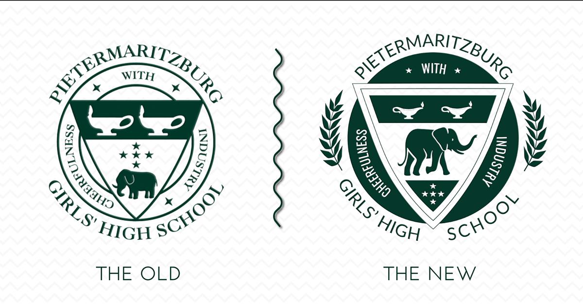 Pietermaritzburg Girls' High School - Badge Re-Brand.