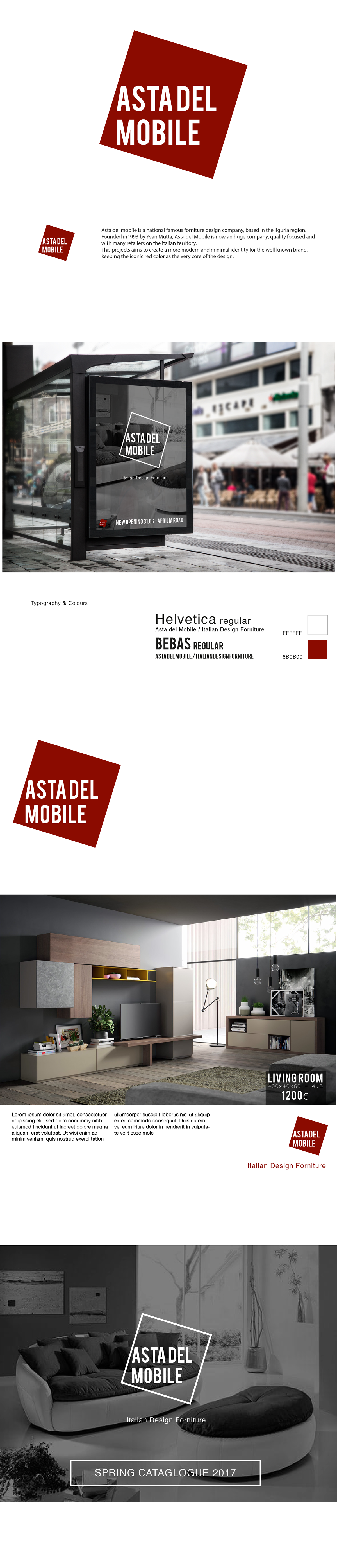 Asta del Mobile - Brand Image on Pantone Canvas Gallery