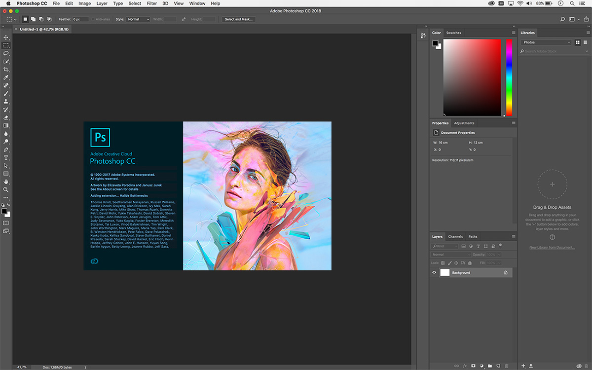 Adobe Photoshop CC 2018 Build 19.0.1