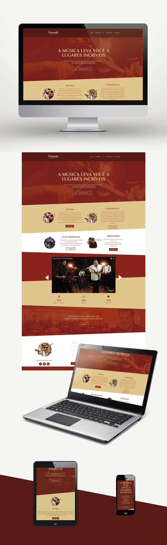 Web site Webdesign wordpress Layout site responsivo Website publicidade