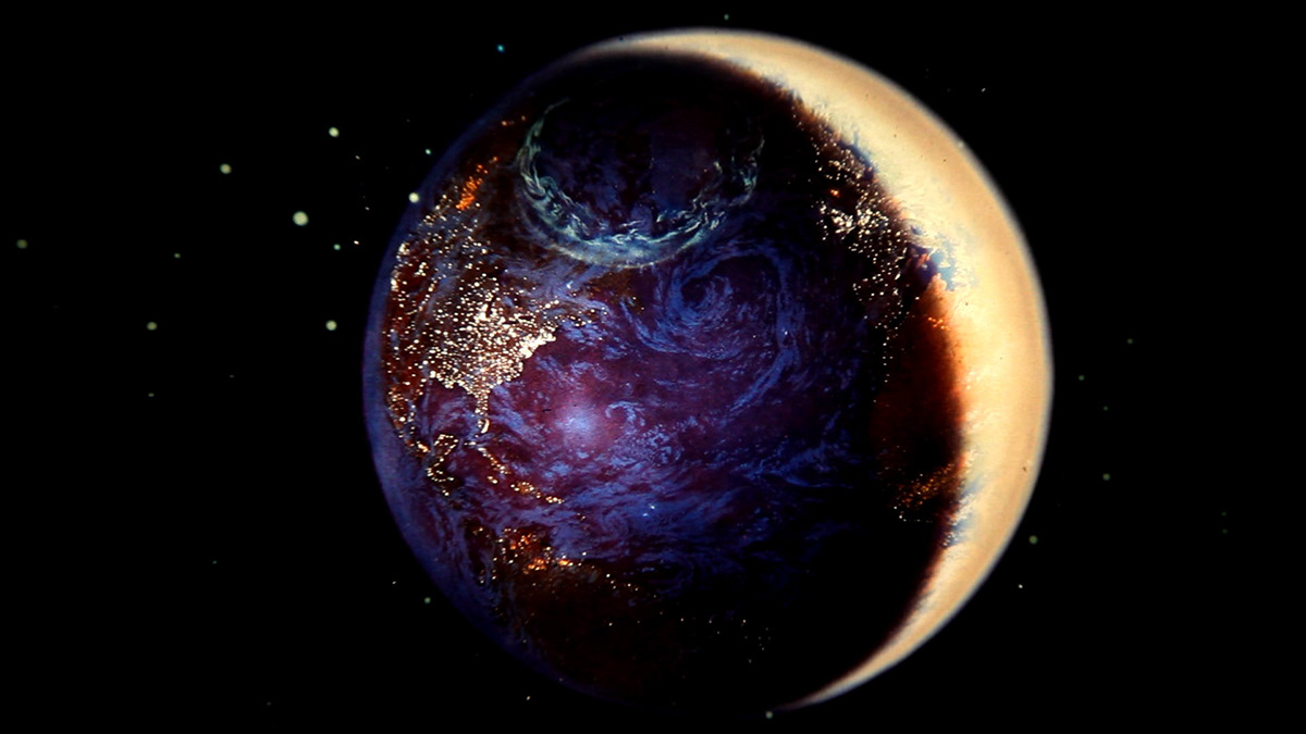 Image may contain: star, dark and universe
