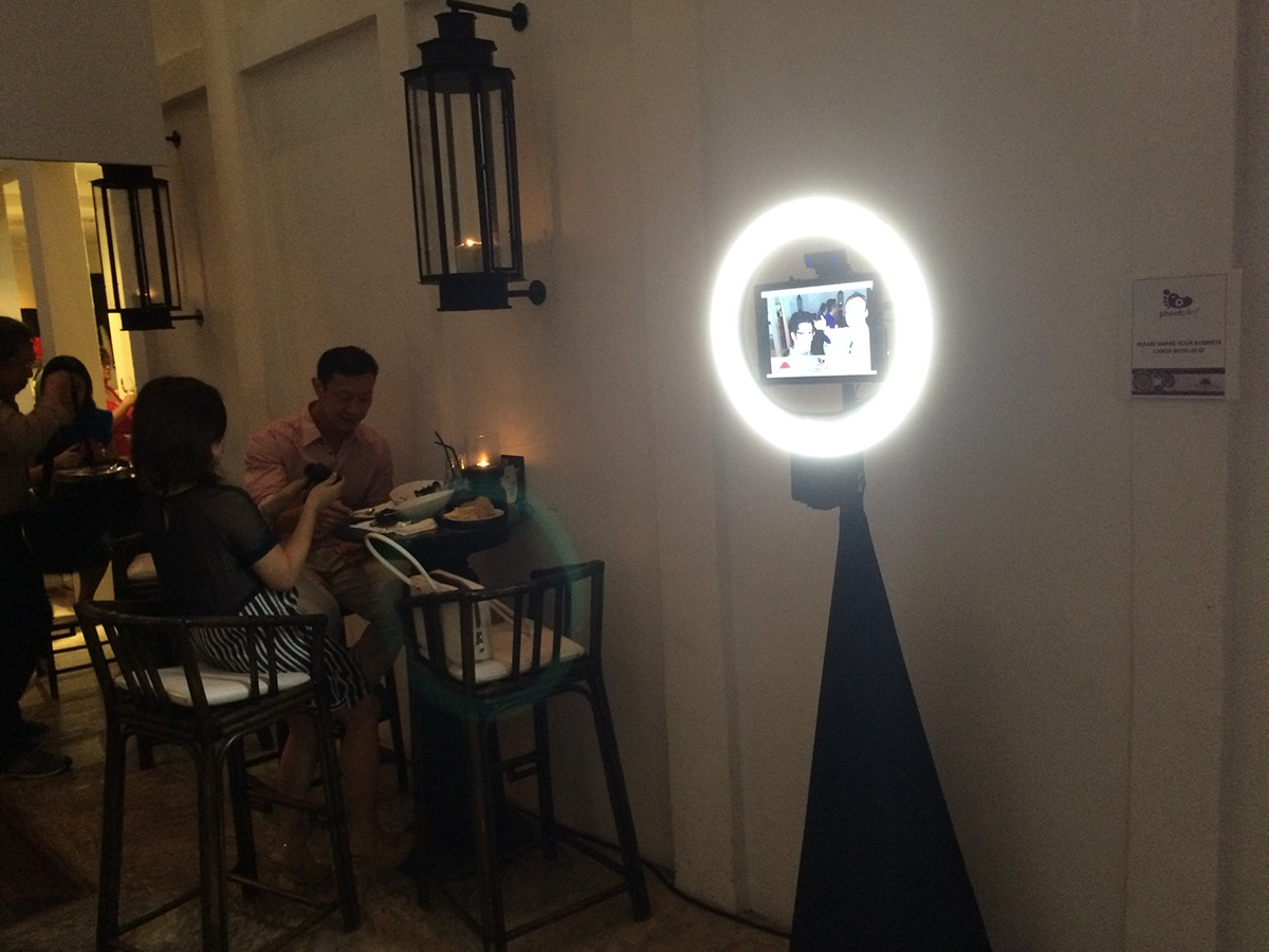 & GIFted The Best Ring Light GIF Photo Booth in Singapore on Behance