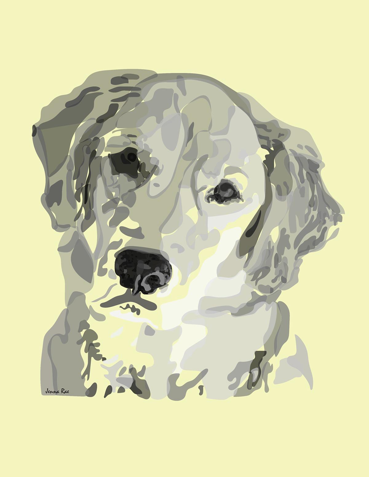 dog photoshop cad