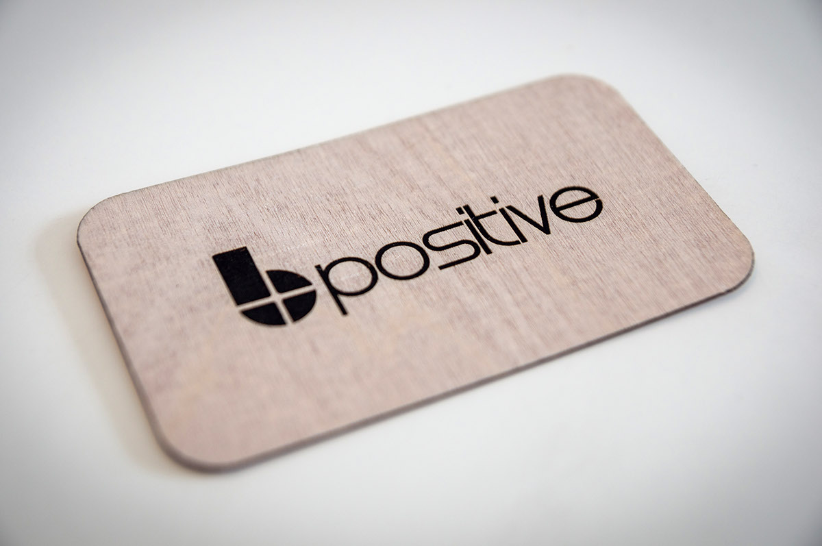 Laser cut business card on behance laser cut business card bpositive colourmoves