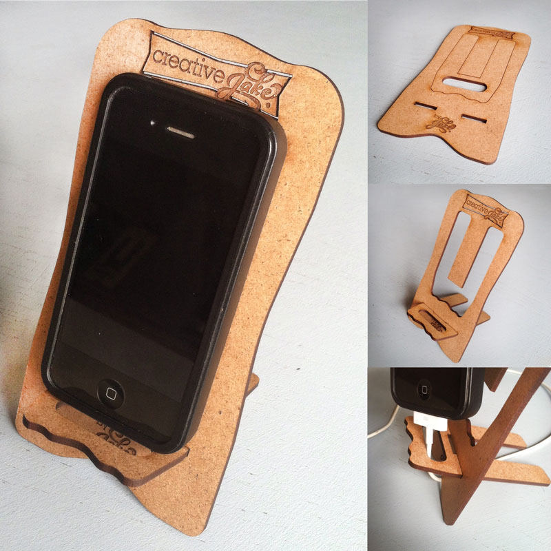 Ideal Laser Cut Easels / Phone Charging Holder on Behance CH27
