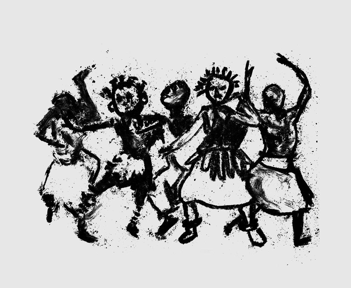 afro album cover ILLUSTRATION  Larissa Luz music pemba bahia black salvador
