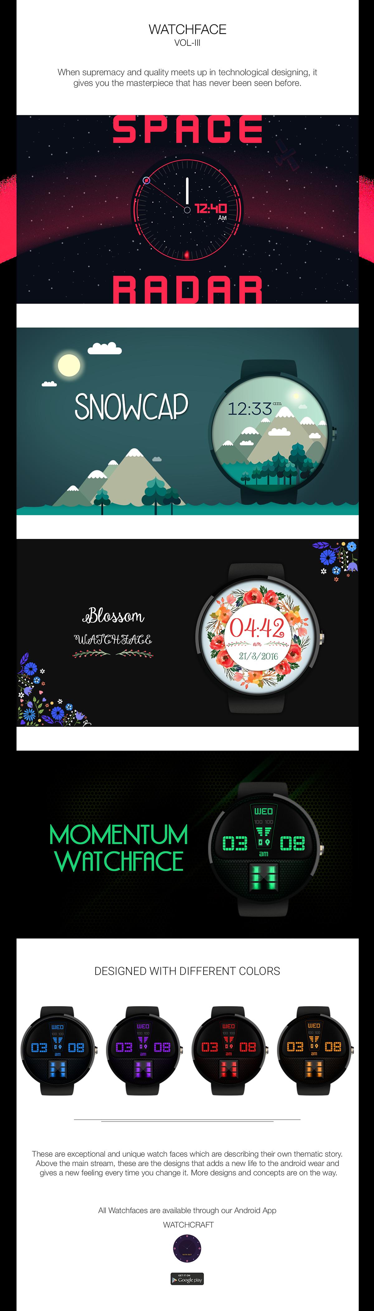 nextin smart watch Android Wear Illustrator premium designs wear smart wear wear design