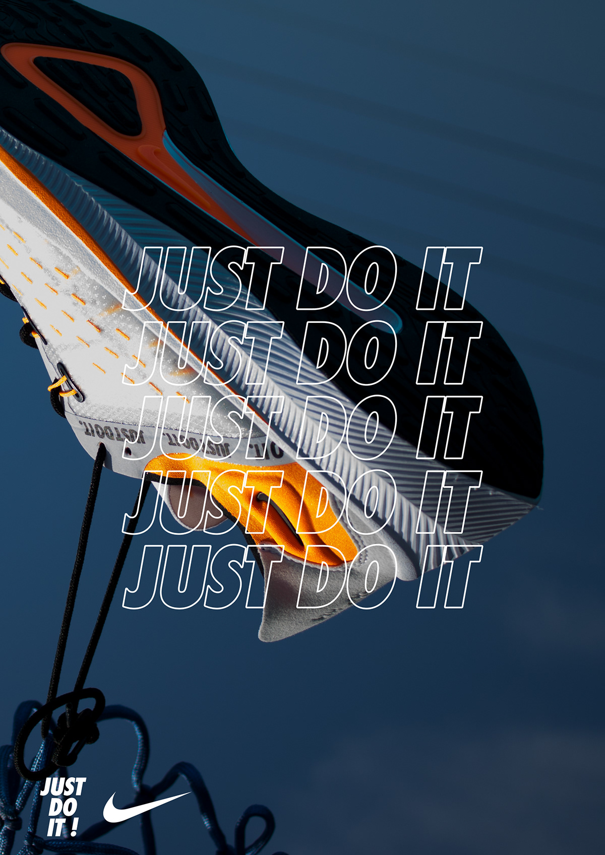 Nike Posters - Just Do It on Pantone Canvas Gallery