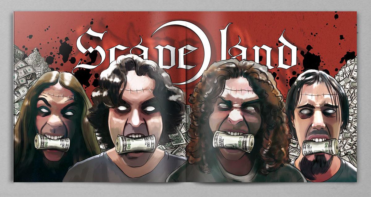 cd- artwork scape-land rock