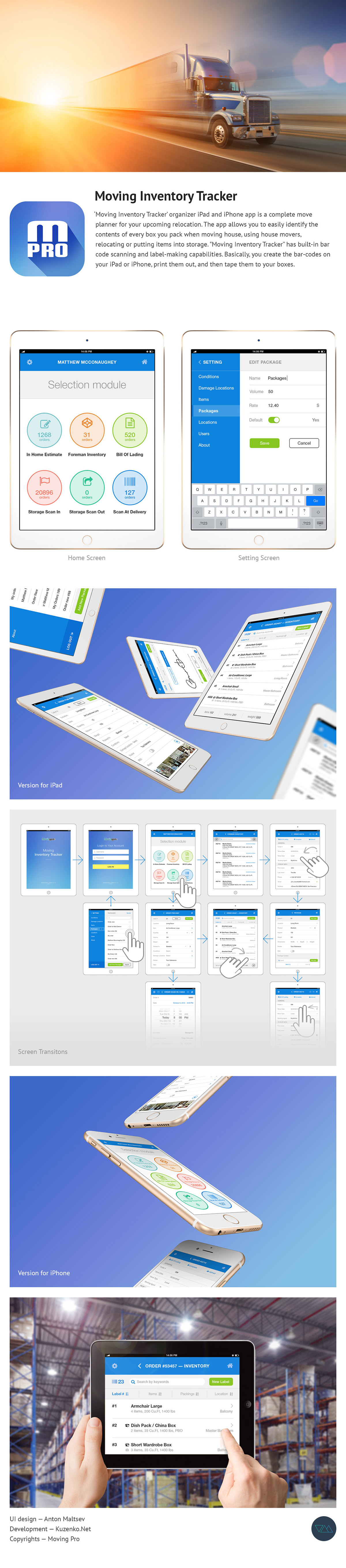 Mobile app ux UI-design