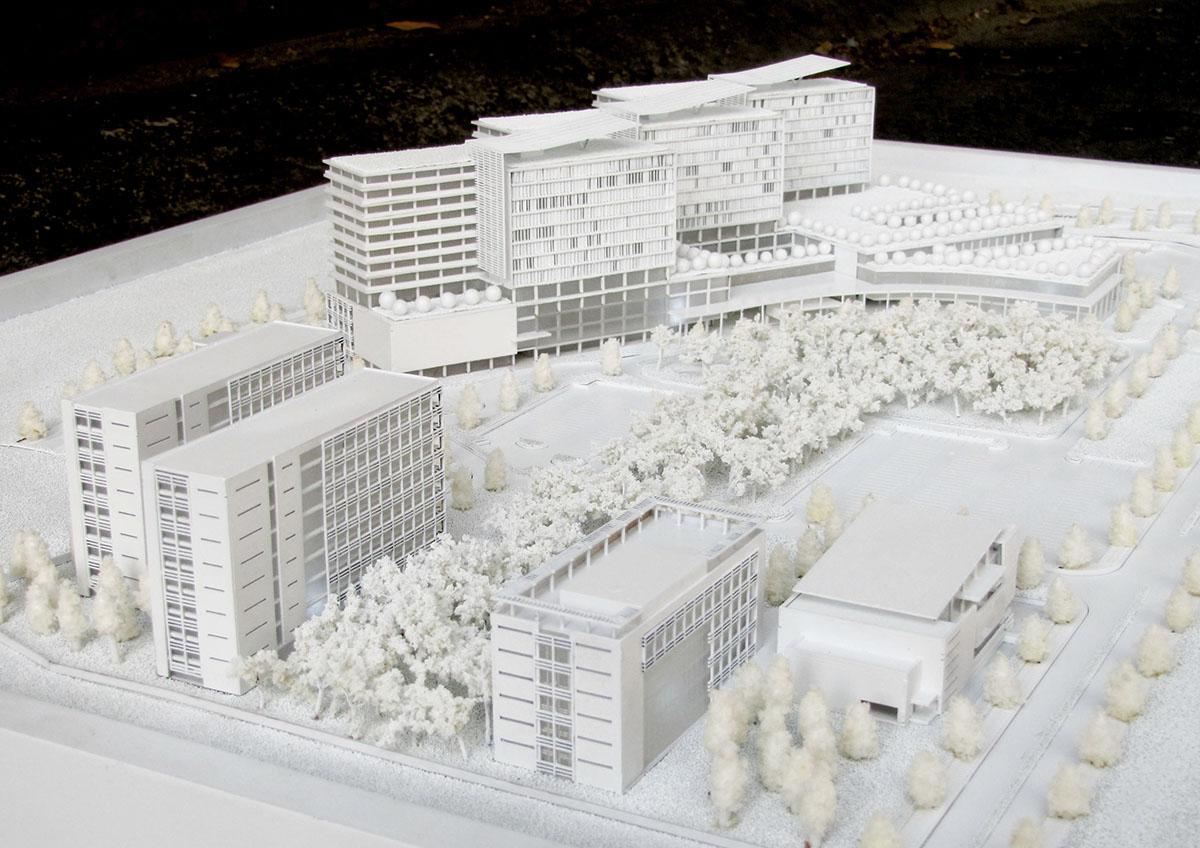 Binh Duong Hospital Design Concept Model on Behance