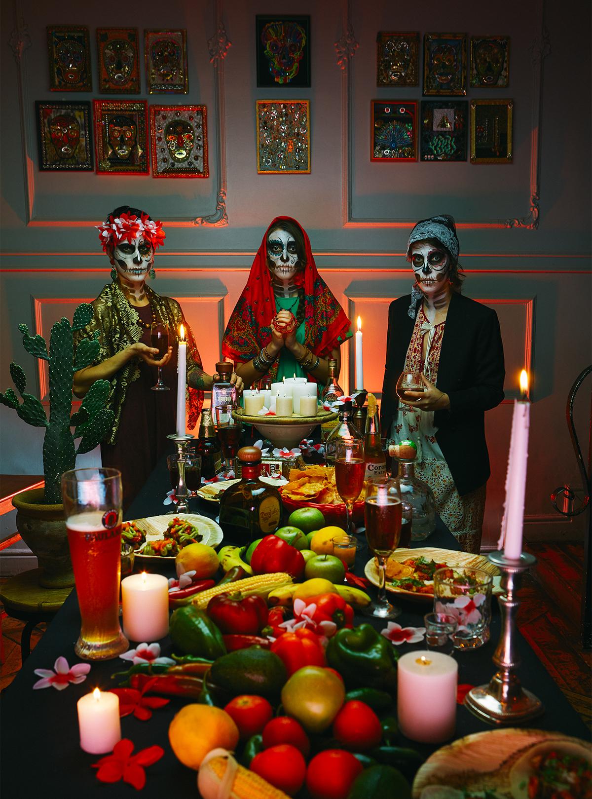 mexico Dia De Muertos restaurant promo Last Supper day of the dead